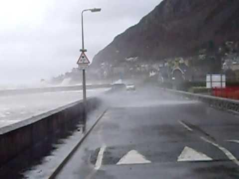 llanfairfechan flooding March 2010