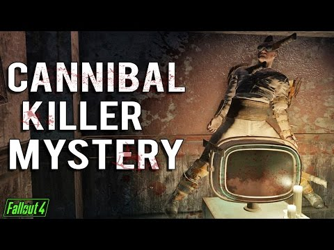 Fallout 4 Console Mods - A Mysterious Serial Killer's House!