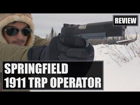 The Springfield Armory 1911 TRP Operator 45 ACP Gray Review