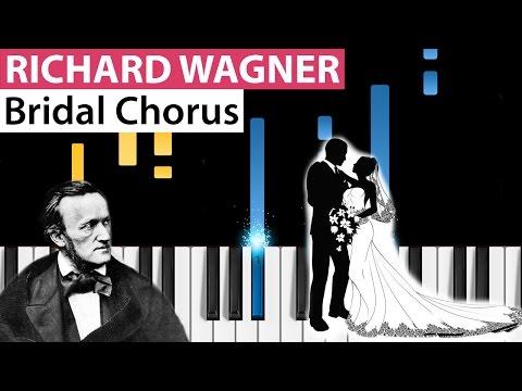 Richard Wagner - Bridal Chorus - Piano Tutorial