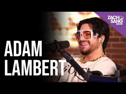 Adam Lambert Talks