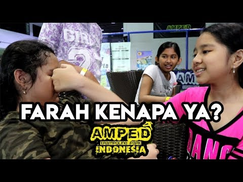Farah Nangis Kenapa ya?! | Amped Trampolin Vlog
