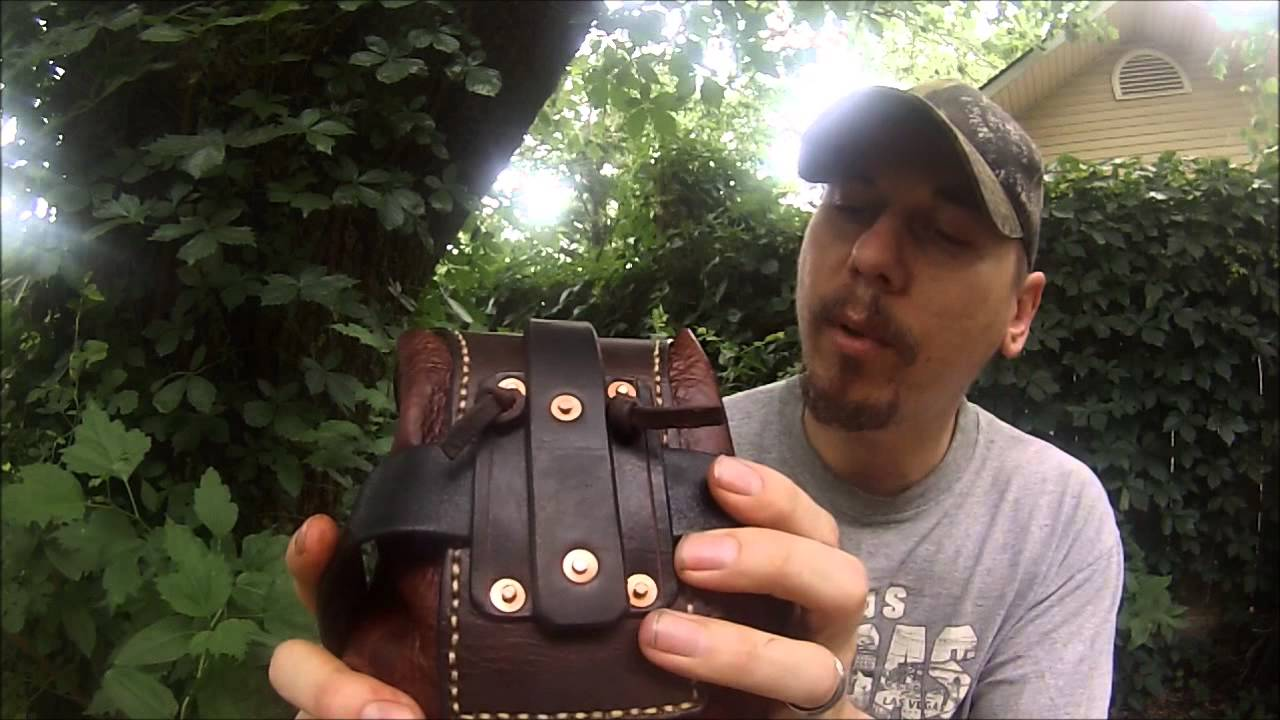 Leather Belt possibles pouch YouTube