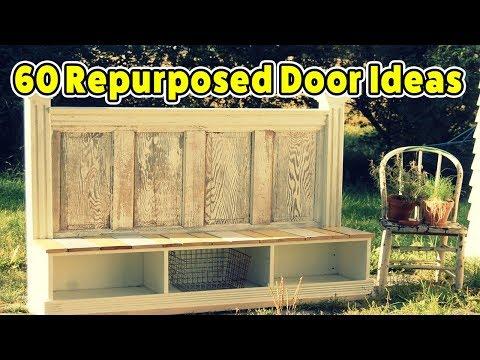 60 Repurposed Doors in a Unique Way - CREATIVE DESIGN IDEAS
