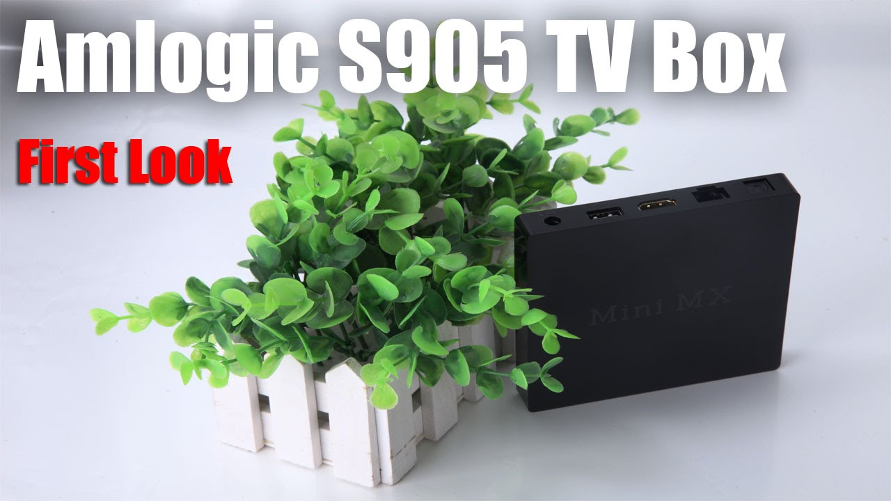 Amlogic S905 64Bit Android TV Box with 60fps 4K and 1080P Video: First Look  - YouTube