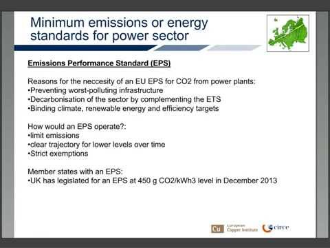 Energy efficiency for electricity and heat sector (module 2.6)