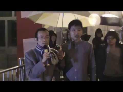 Chapman Chen's Speech on HK Autonomy outside British CG (2 Dec) 曾焯文博士十二月二號在英國領事館前講中國蠶蝕香港自治權