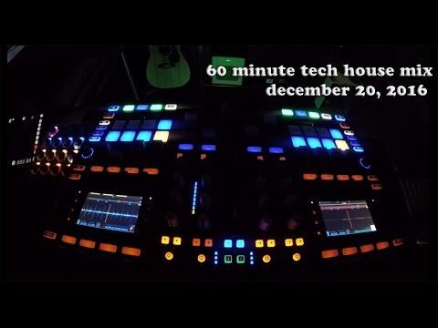 Tech House Mix Deep Underground House Dance December 22, 2016 60 Minutes