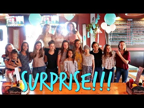 NEW SCHOOL FOR EMMA! CRASHING A FANS BIRTHDAY PARTY WITH A SURPRISE!