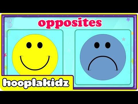 Preschool Activity | Learn Opposites | HooplaKidz