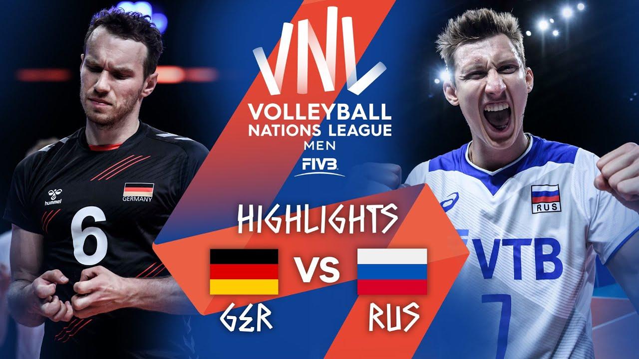 Download GER vs. RUS - Highlights Week 5 | Men's VNL 2021