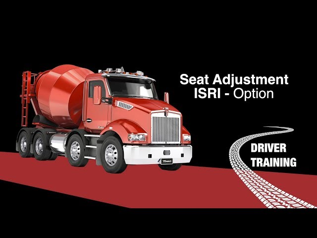 Kenworth T360 ISRI Seat Adjustment