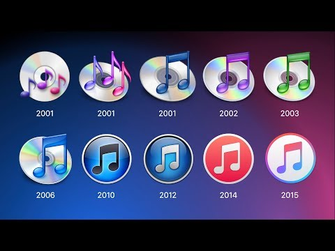 History of iTunes