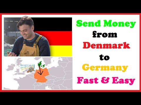 Send Money from Denmark to Germany Fast & Easy