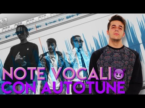 Come usare AUTOTUNE nelle Note Vocali