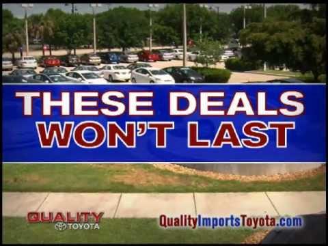 Toyota Florida Dealer in Fort Walton Beach serving Pensacola, Panama City and Crestview