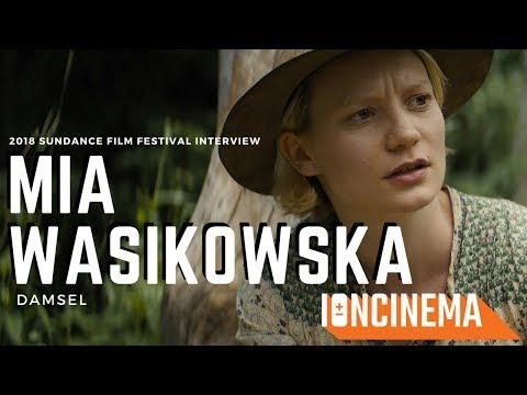 : Mia Wasikowska  Zellner Bros.' Damsel  2018 Sundance Film Festival