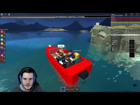 MEGALODON ÖLDÜRMEK / Roblox Shark Attack Beta / Roblox Adventures / Oyun Safı
