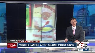 Vendor banned from Ducktail Run car show over racist signs