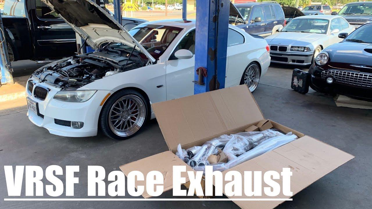 vrsf race exhaust on my 335 n54