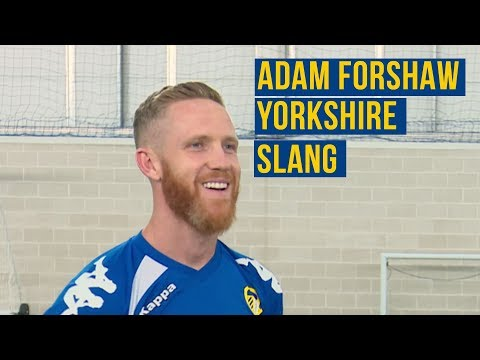 CHEATING AND BRAYING AS ADAM FORSHAW TRYS TO LEARN YORKSHIRE SLANG 🤦🏻‍♂️🤣