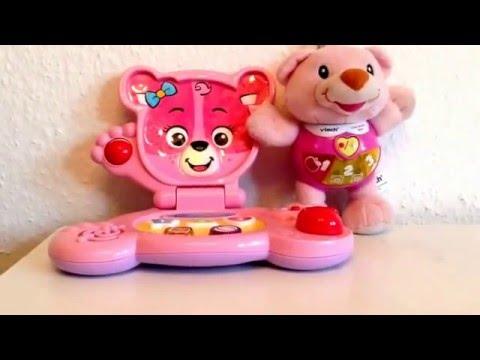 Vtech baby bear and laptop
