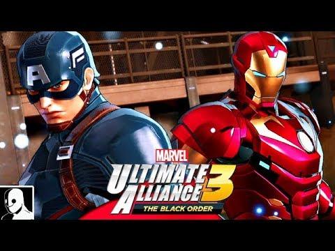 Marvel Ultimate Alliance 3 Deutsch #2 - Neues Team Mit Iron Man, Hulk & Co (DerSorbus)