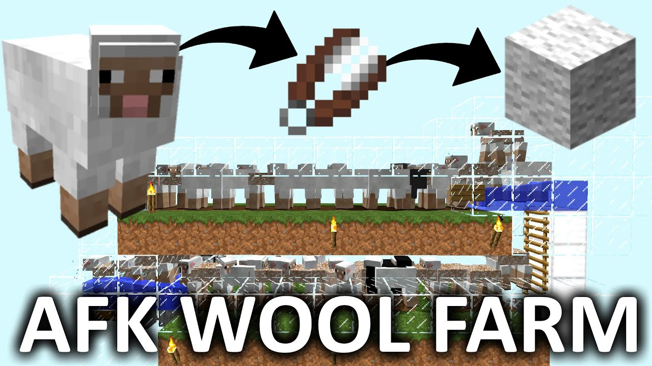 Best Afk Wool Sheep Farm 1 14 1 13 1 12 1 11 1 10 Youtube