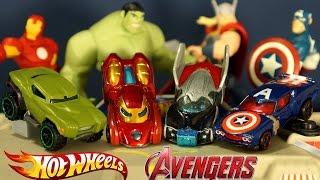 Хот Вилс 2015 Машинки Мстители + Мультики на русском языке. Hot Wheels Avengers