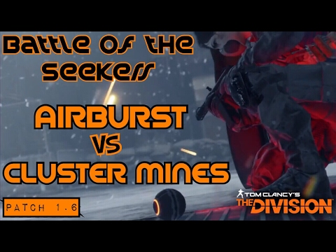 The Division [1.6] - [Who Wins] Team Clusters vs Team Airburst + Flame Turret