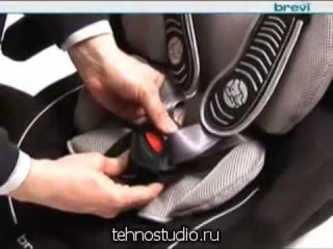 Автокресло Brevi Touring (9-36 кг) крас/серый