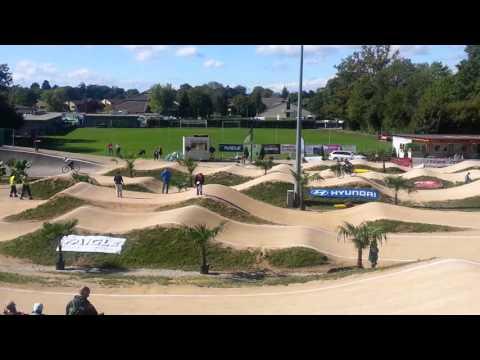 Coupe d'Europe BMX UEC 2015 à Echichens (Suisse) - Cruisers women 17/24 manche3