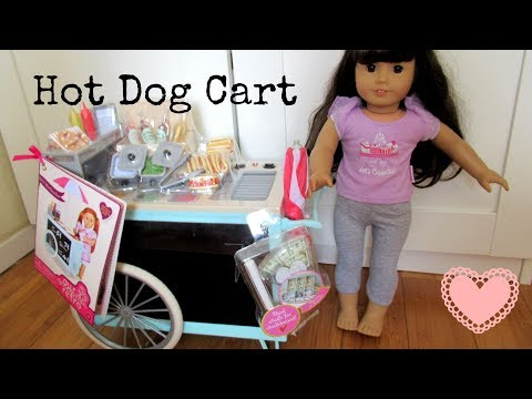 New Our Generation Retro Hot Dog Cart for American Girl Doll