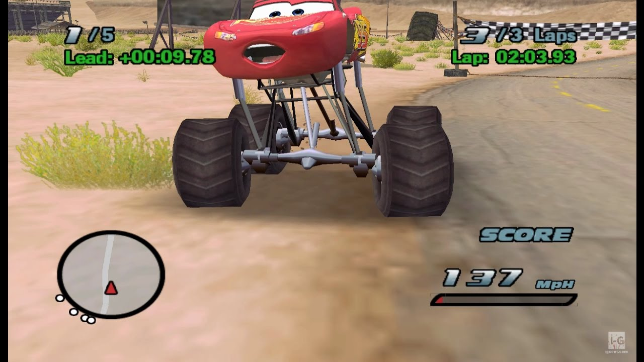 Lightning McQueen Monster Truck Cars Racing HD - YouTube