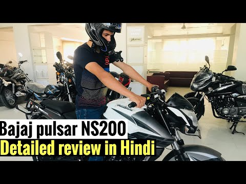 Bajaj pulsar NS200 abs Detailed review HINDI | On road pros and cons