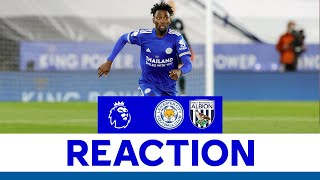 'The Team Was Brilliant' - Wilfred Ndidi   Leicester City 3 West Bromwich Albion 0