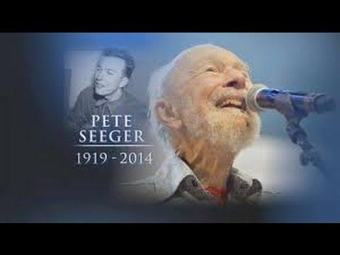 Pete Seeger dies aged 94