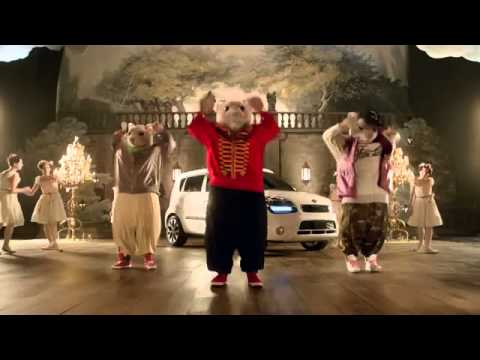 Exceptional Kia Soul Hamster Commercial 2013   Joseph Hall Lead Hamster