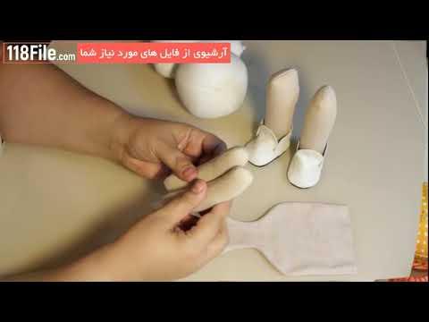 ع عروسک های روسی آموزش کامل ساخت عروسک های روسی - YouTube