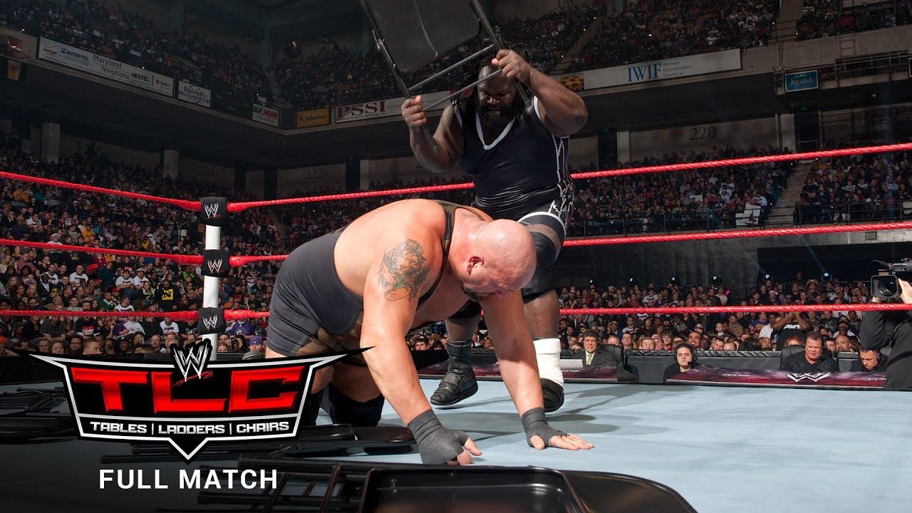 FULL MATCH - Mark Henry vs. Big Show - World Heavyweight Title Chairs Match: WWE TLC 2011