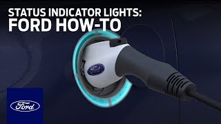 Ford Electric Vehicles: Using Charge Cord and Status Indicator Lights | Ford How-To | Ford thumbnail