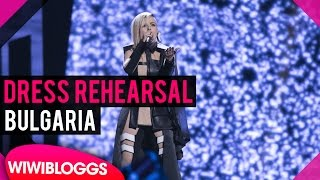 "Bulgaria: Poli Genova ""If Love Was A Crime"" grand final dress rehearsal @ Eurovision 2016"