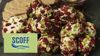 Cranberry And Pistachio Cheese Balls | We Heart Food S6e5/8