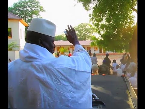 PRESIDENT YAHYA JAMMEH... MAN OF THE PEOPLE