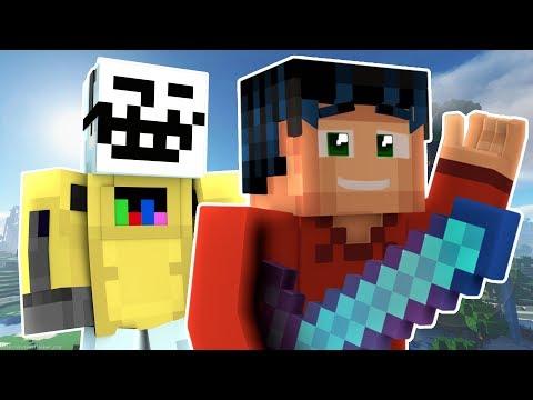 Wonder Woman Prank! Minecraft Trolling! Robot Gaming trolls Minecraft Steve! (Gaming Roleplay)