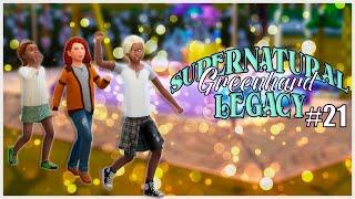 Династия Гринхард #21. Детские забавы // The Sims 4 Challenge