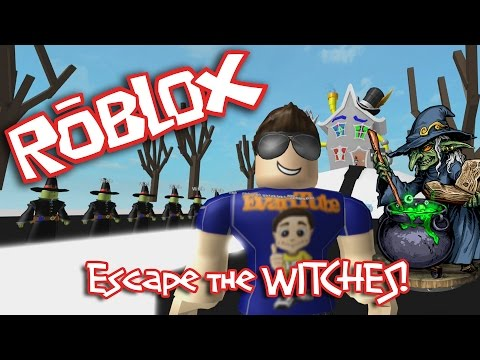Roblox: ESCAPE The EVIL WITCH!!!