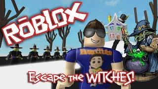 Roblox: ESCAPE the EVIL WITCH!!!