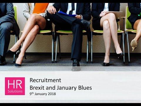Recruitment | Brexit and January Blues