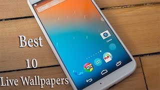 Top 10 Best Live Wallpapers for Android! (2014)